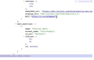 JSONView, a Google Chrome plugin
