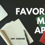 Favorite Mac Apps