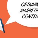Obtaining Marketing Content