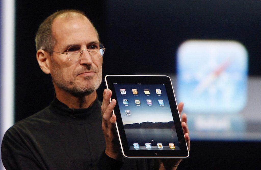 Steve Jobs Introducing the iPad